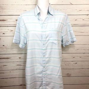 ORIGINAL PENGUIN Men's Slim Fit Shirt Size M